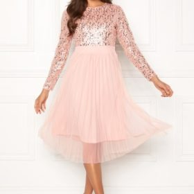Happy Holly Mandy dress Dusty pink 52/54