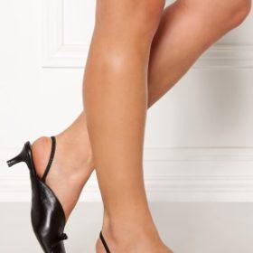Henry Kole Amelie Leather Sandals Black 39