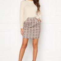 ICHI Kate Hounds Skirt Ginger Bread L
