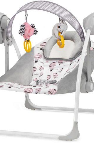 Kinderkraft Vippestol FLO, Pink