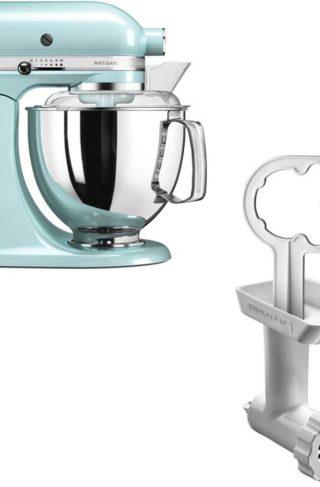 KitchenAid Artisan 175 Iceblue/Mint + Kjøttkvern FGA