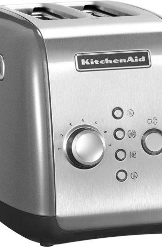 KitchenAid Brødrister 2-skiver Contour Silver