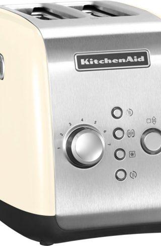 KitchenAid Brødrister 2-skiver Creme