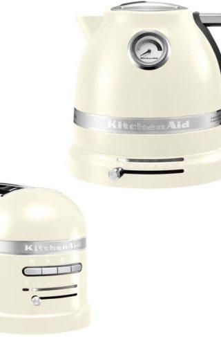 KitchenAid Brødrister og Vannkoker 1,5 l Creme