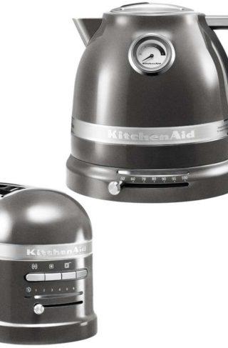 KitchenAid Brødrister og Vannkoker 1,5 l Grafitt Metallic