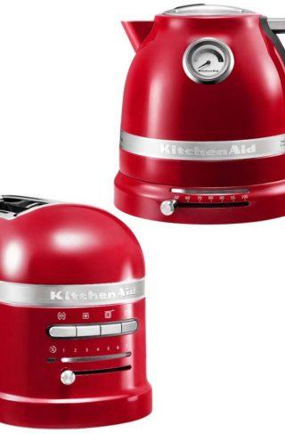 KitchenAid Brødrister og Vannkoker 1,5 l Rød