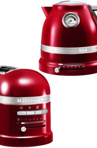 KitchenAid Brødrister og Vannkoker 1,5 l Rød Metallic