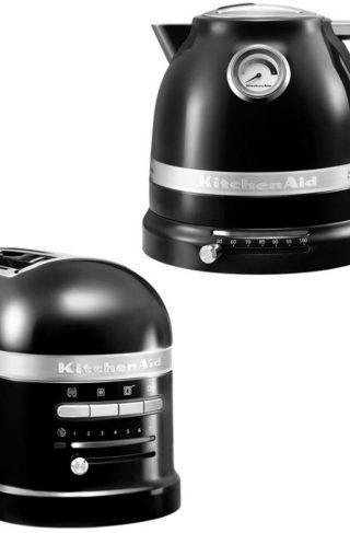 KitchenAid Brødrister og Vannkoker 1,5 l Svart