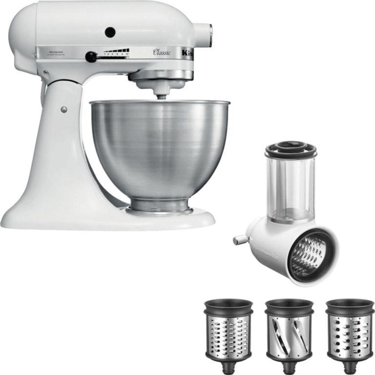 KitchenAid Classic Kjøkkenmaskin + Grønnsaksskjærer
