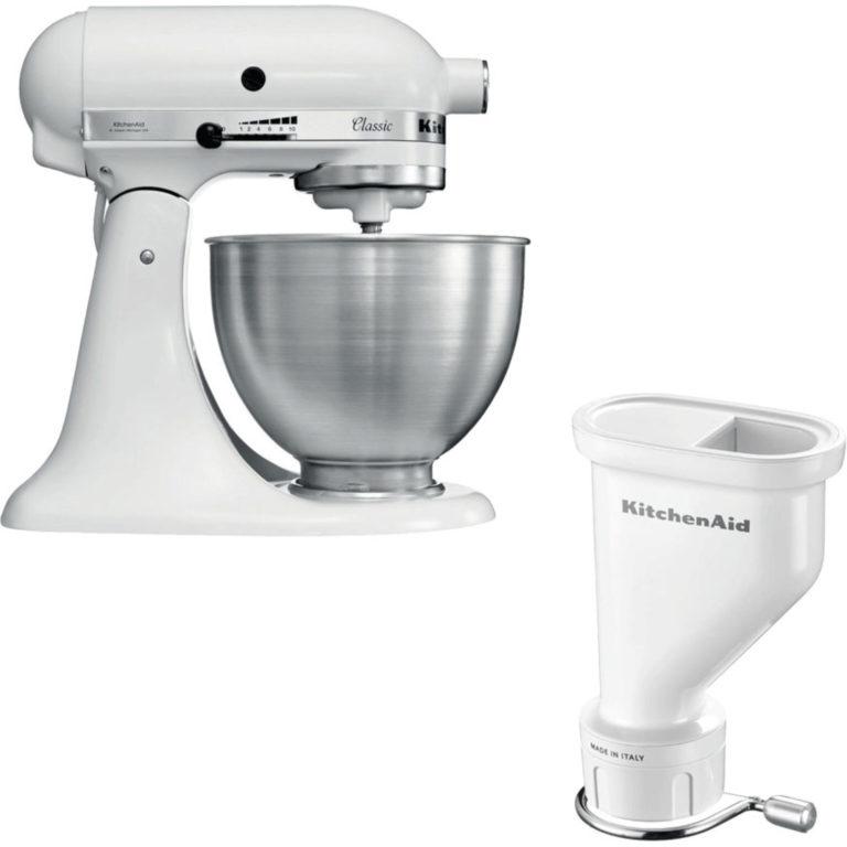 KitchenAid Classic Kjøkkenmaskin + Pastapresse