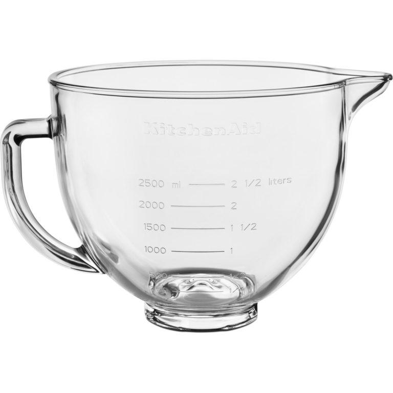 KitchenAid Glass skål til kjøkkenmaskin 4,7 liter
