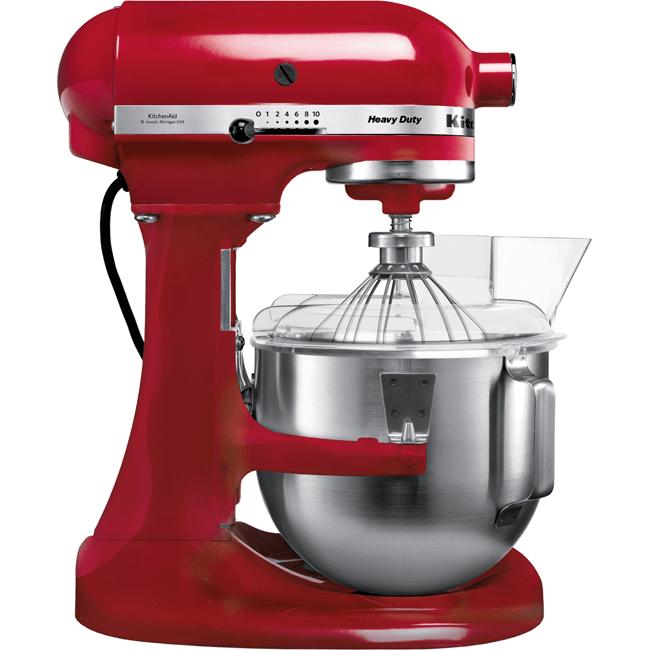KitchenAid Kjøkkenmaskin Heavy Duty Rød 4,8 Liter