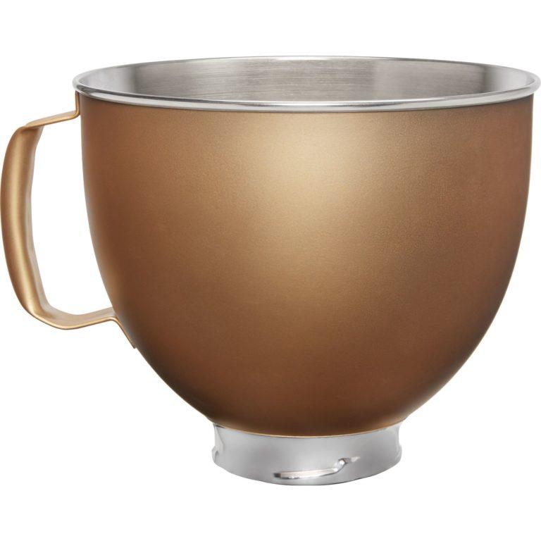 KitchenAid Skål i rustfritt stål til K5 Kjøkkenmaskin, gull
