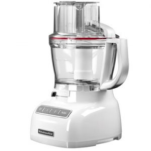 Kitchenaid foodprocessor hvit, 3,
