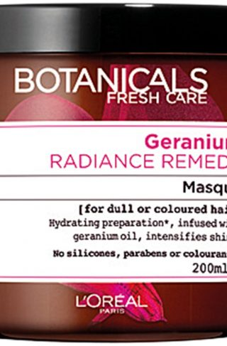L'Oréal Paris Botanicals Geranium Radiance Remedy Masque, 200 ml L'Oréal Paris Hårkur