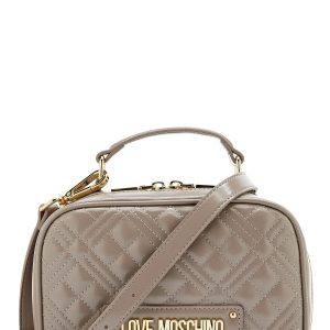 Love Moschino New Shiny Quilted Bag 001 Grey One size