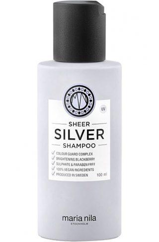 Maria Nila Care Sheer Silver Colour Guard Shampoo, 100 ml Maria Nila Sjampo