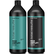 Matrix Total Results High Amplify Shampoo (1000ml), Conditioner (1000ml) og Root Lifter (250ml)
