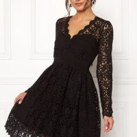 Moments New York Leyla Crochet Dress Black 40