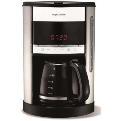 Morphy Richards Kaffetrakter Hvit