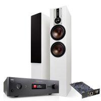 NAD C388 + MDC BluOS 2i + DALI OPTICON 6 Musikkanlegg med streaming