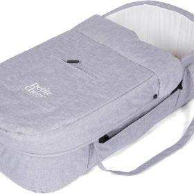 Petite Chérie Solide Vognbag Hard, Light Grey