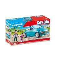 Playmobil 70285 Pappa og barn med kabriolet