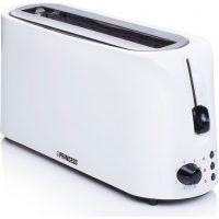 Princess Brødrister Long Slot Toaster Cool White