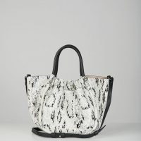 Proenza Schouler Leather Bag Small Ruched Tote One Size