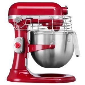 Professional kjøkkenmaskin rød 6,9 L