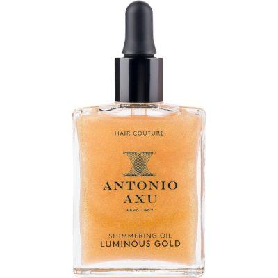 Shimmering Oil Luminous Gold, 60 ml Antonio Axu Hårolje