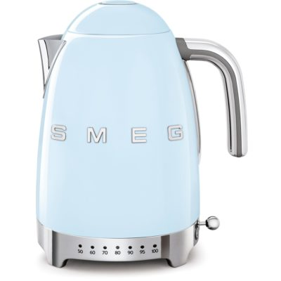 Smeg Vannkoker 1,7 l Justerbar Temperatur Pastellblå