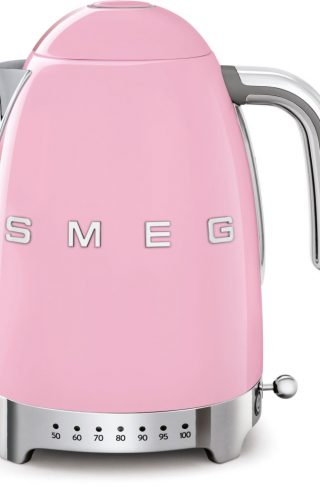 Smeg Vannkoker 1,7 l Justerbar Temperatur Rosa