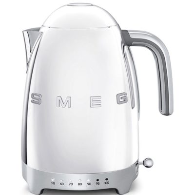 Smeg Vannkoker 1,7 l Justerbar Temperatur Stål