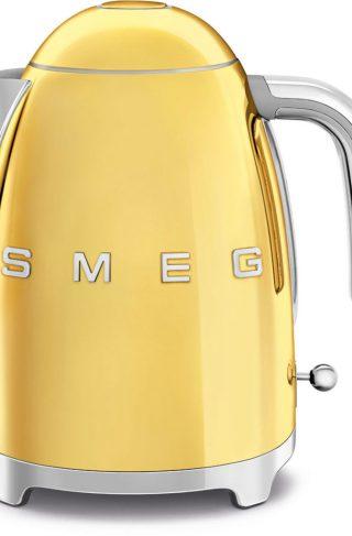 Smeg Vannkoker 1,7 l, guld