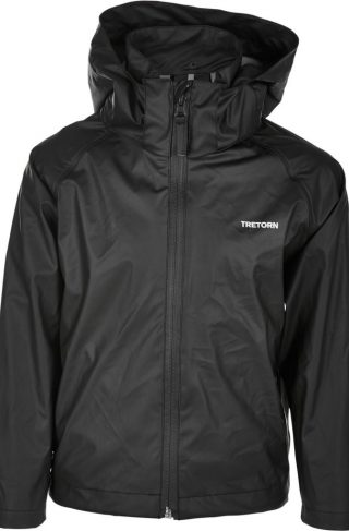Tretorn Packable Regnsett, Black 110-116