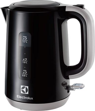 Vannkoker 1,7 liter Svart/sølv