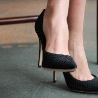 Høyhælte sko