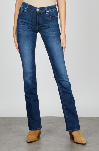 7 For All Mankind Jeans Bootcut Bair Duchess 30