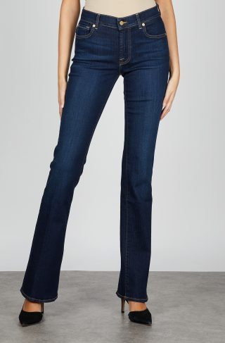 7 For All Mankind Jeans Bootcut Bair Rinsed Indigo 24