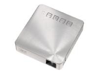ASUS S1 - DLP-projektor - RGB LED array - 200 lumen - WVGA (854 x 480) - 16:9 - ultrakortkast fast linse