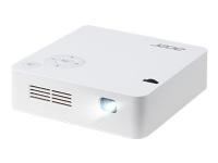 Acer C202i - DLP-projektor - LED - 300 lumen - WVGA (854 x 480) - 16:9