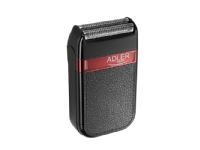 Adler AD 2923, Barberingsmaskin, lysbildeviser, Svart, Batteri, Innebygd batteri, 45 min