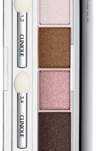All About Shadow Quads Pink Chocolate