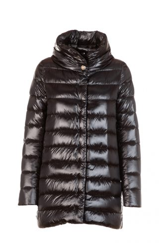 Amelia bell-shaped down jacket
