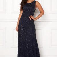 AngelEye Sleeveless Sequin Dress Navy S (UK10)