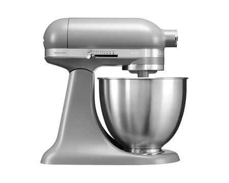 Artisan Mini Kjøkkenmaskin 3,3 liter Matt Grå