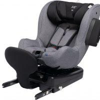 Axkid Modukid Seat Bilstol, Grey Inkl. Base