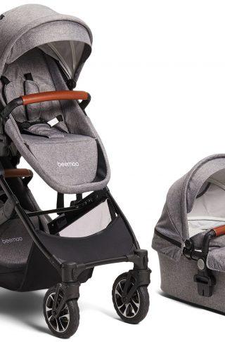Beemoo Maxi 4 Twin, Grey/Black