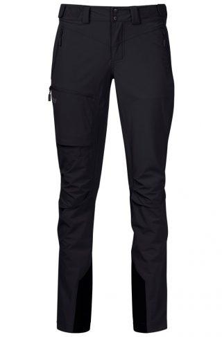 Bergans Breheimen Softshell Bukse Dame Black/Solid Charcoal